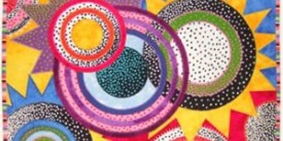 Jane Sassaman workshop-  Suns and Moons
