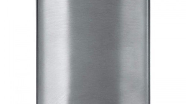 Maxam 8oz Stainless Steel Flask with Brushed and Polished Finish