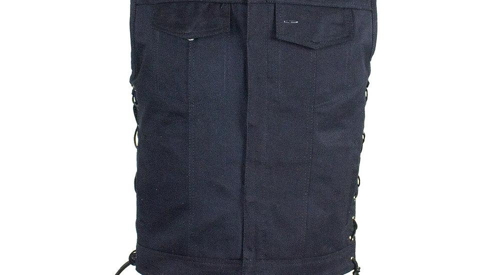 Men's Black Denim Vest by Club Vest®