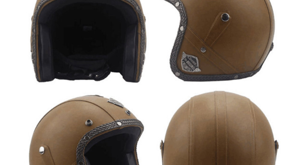 Motorcycle Chopper Helmet Open Face/ Harley-Davidson Rep