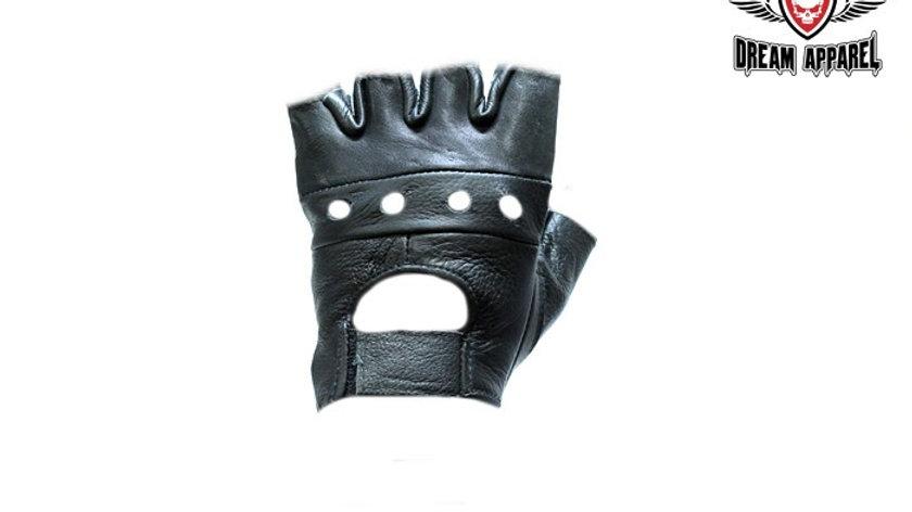 Motorcycle Fingerless Gloves