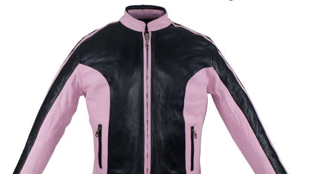 Womens Leather Jacket With Pink