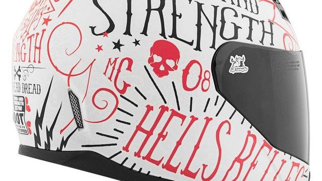 Speed And Strength SS700 Hell's Belles Women's Full Face Helmet.
