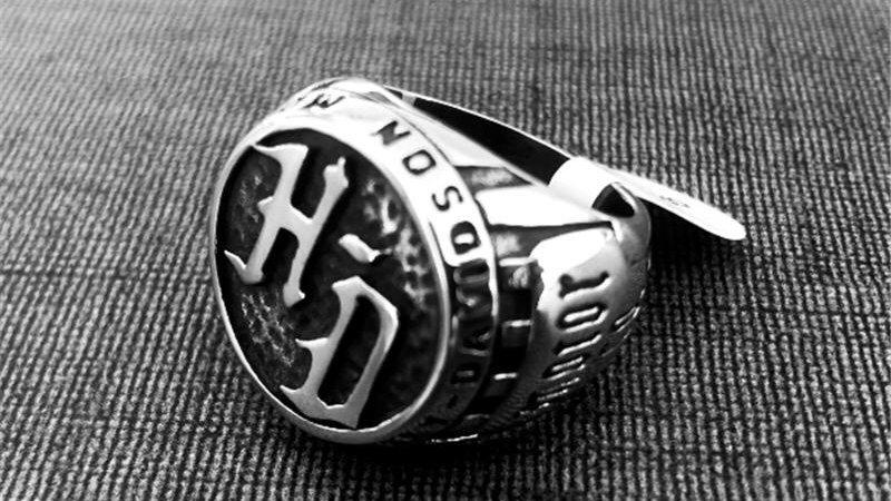 HARLEY-DAVIDSON MOTORCYCLE RING