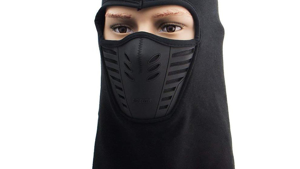 Xelement Winter Fleece Full Face Black Balaclava