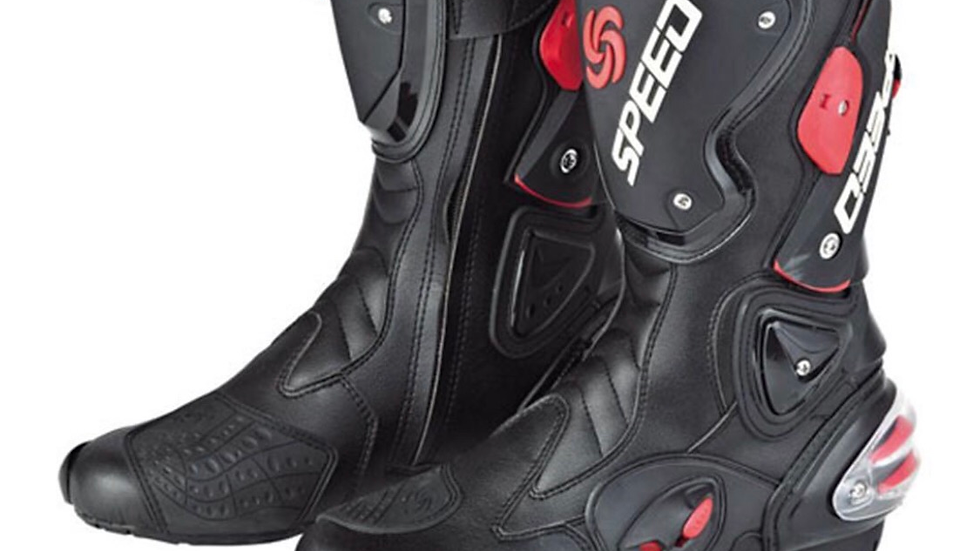 NEW Men's Motorcycle Racing Boots Speed