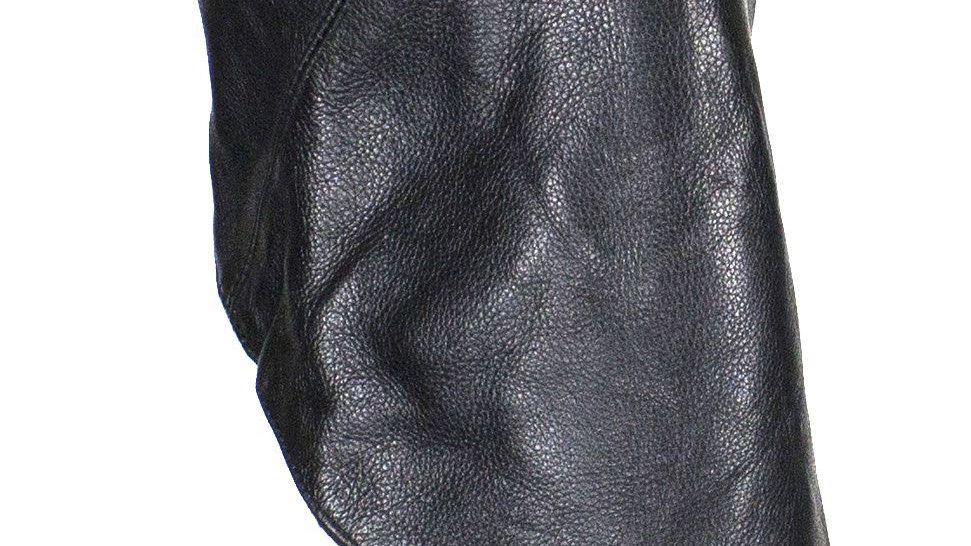 Leather Triangle Mask W/ Muffler