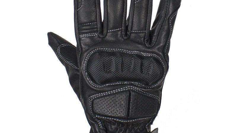 Men's Full Finger Leather Riding Gloves