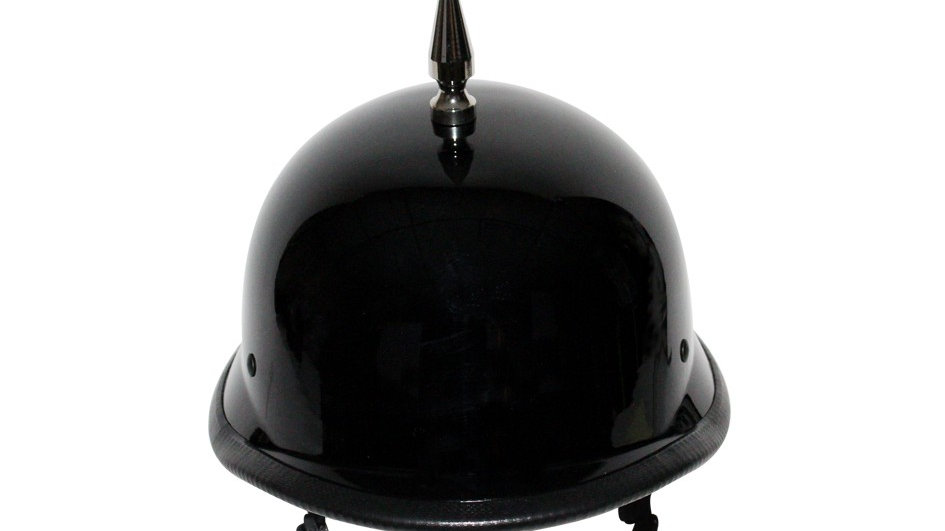 1 Spike German Shiny/Matte Novelty Helmet