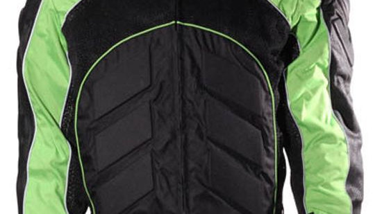 Mens Green Leather Jacket With Zippered Cuffs
