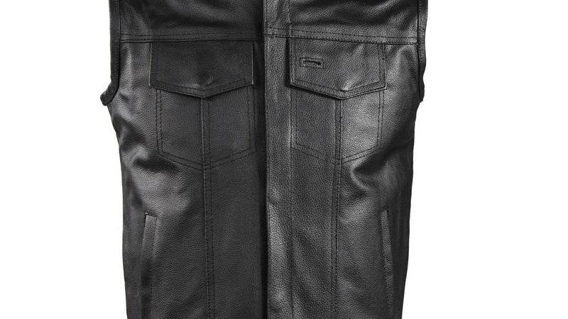 Motorcycle Club Vest With Gun Pocket