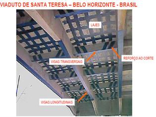 1° Obra no Brasil com fibra de carbono