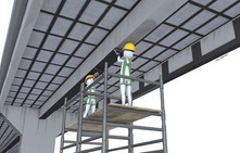 Reforço estrutural com fibra de carbono