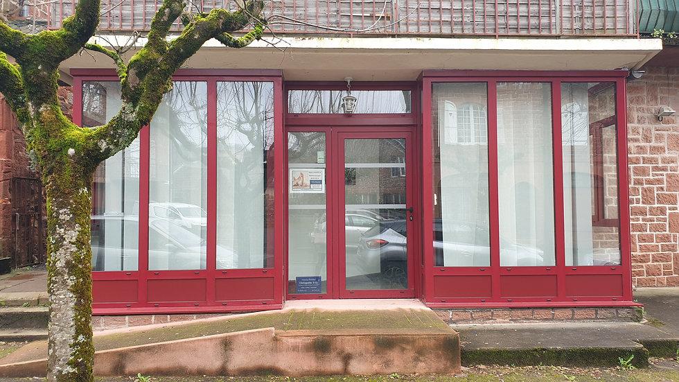 cabinet de Meyssac porte vitrée