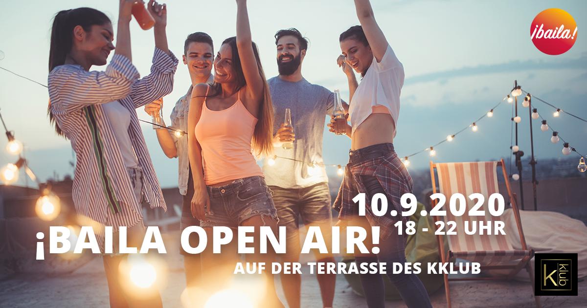 Baila OPEN AIR 10.9.2020