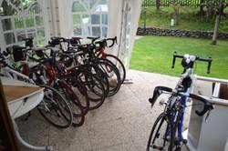 Overdekte fietsparking