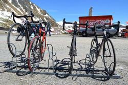 Fietsenparking Gotthard