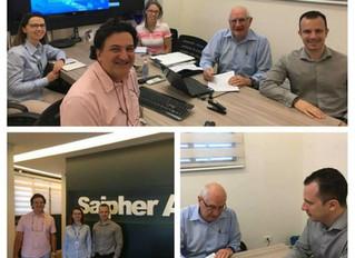 Saipher ATC comemora certificação ISO 9001