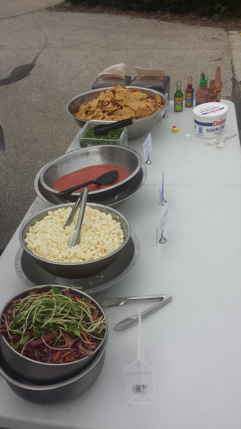 Wedding Catering Taco bar