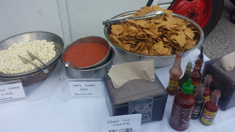 Chips and Salsa. Wedding Catering