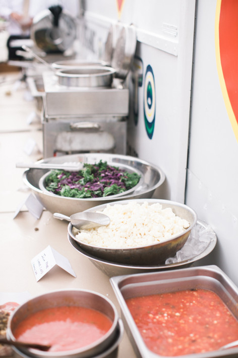 Wedding Catering, Truck Side Taco Bar