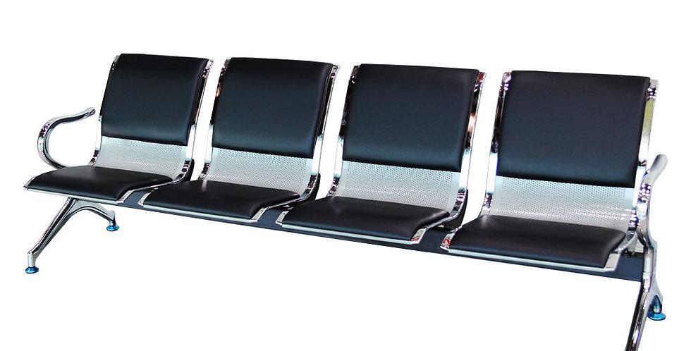 เก้าอี้แถว 4 ที่นั่ง (มีเบาะ) รุ่น ชิดลม/CHIT LOM