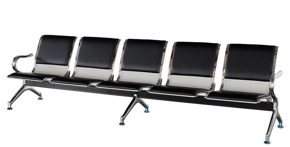 เก้าอี้แถว 6 ที่นั่ง (มีเบาะ) รุ่น ลาดพร้าว/LADPRAO
