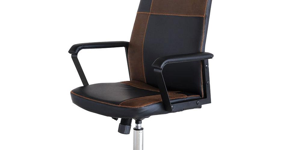 เก้าอี้สำนักงาน (หนังPVC+ผ้า ) รุ่น เรสเตอร์/RASTER