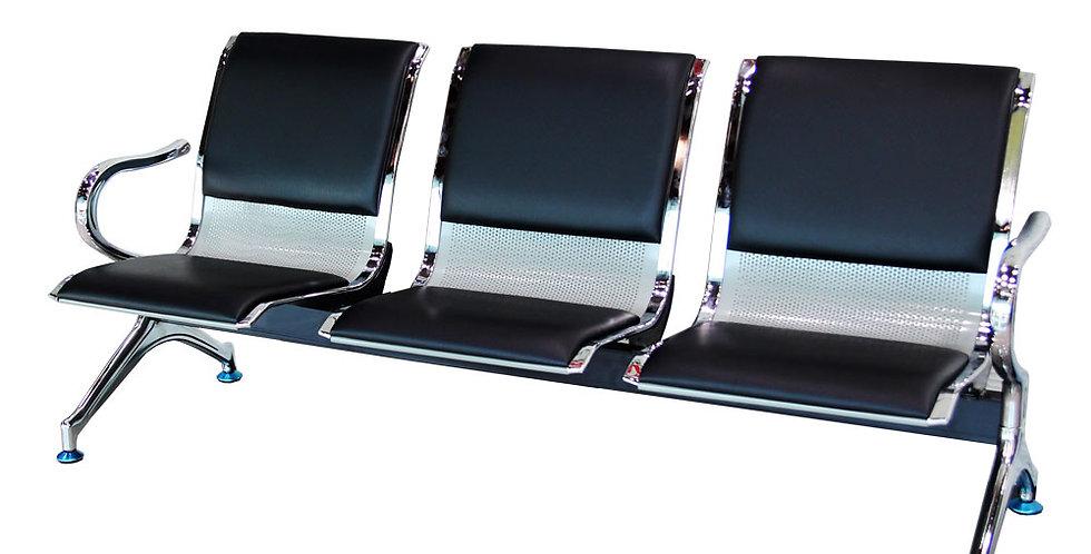 เก้าอี้แถว 3 ที่นั่ง (มีเบาะ) รุ่น เพลินจิต/PHLOEN CHIT