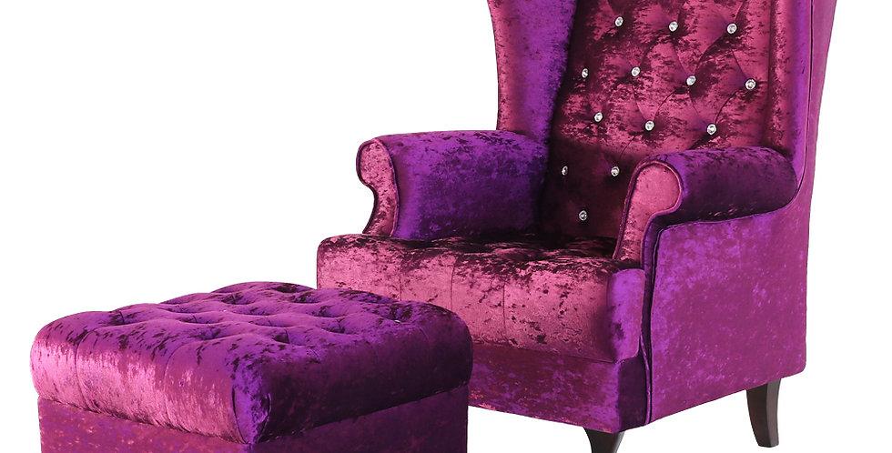 โซฟา Arm chairs  ขนาด 1 เมตร รุ่น คิง/KING