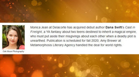 2019 - Some Metamorphosis Literary Agency Highlights