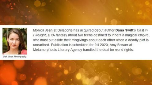 2019 - Some Metamorphosis Literary Agency Highlights