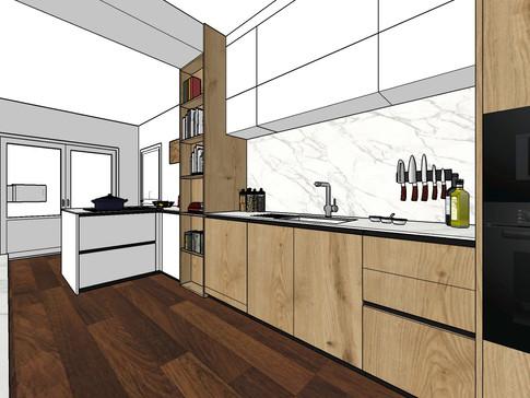 Création cuisine et aménagements salon  | La Rochelle