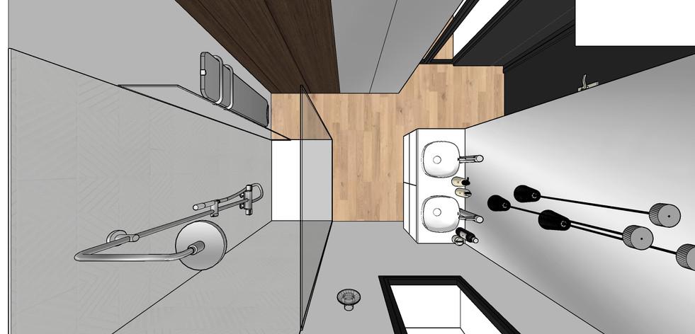 Aménagement villa   salle d'eau