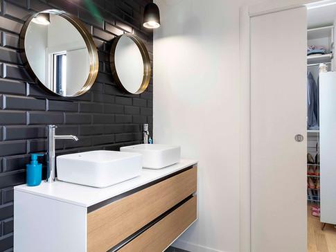 Espaces bains | et toilettes