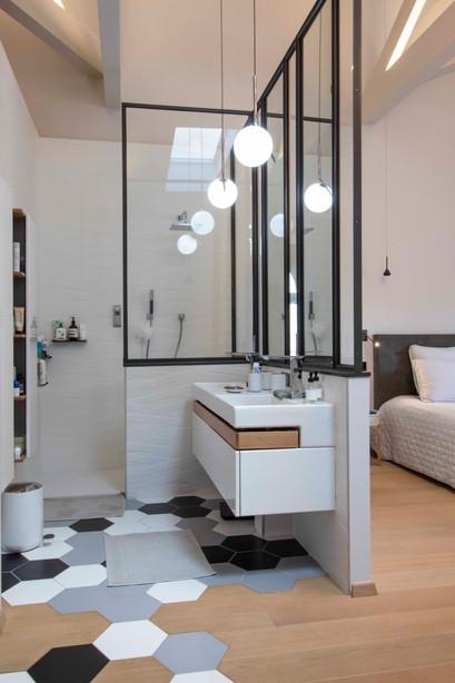 Salle de bain | dans une suite parentale