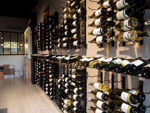 Agencement d'une | cave à vin