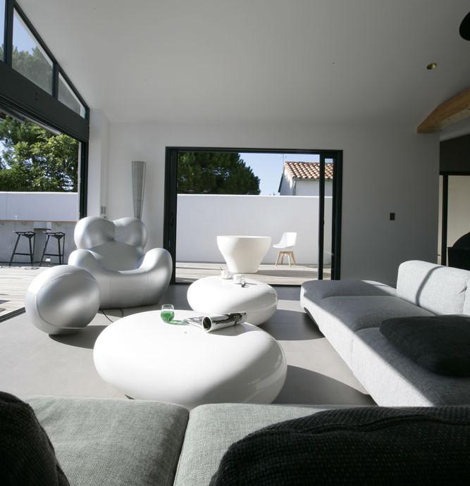 Construction et décoration d'une villa | Île de Ré