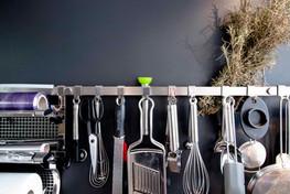 Cuisine îlot | bois et laque