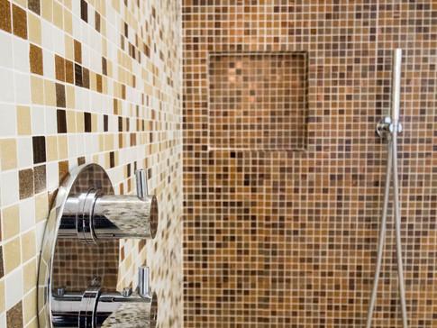 Salle d'eau   mosaïque