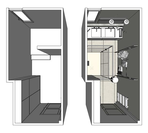 Plan de l'existant - plan du projet