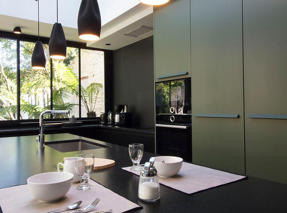 Cuisine | verte et noire
