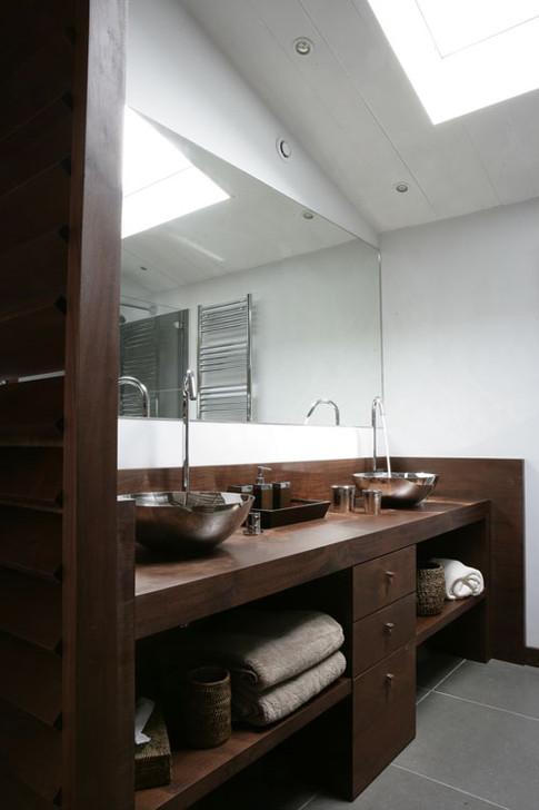 Salle de bain | bois