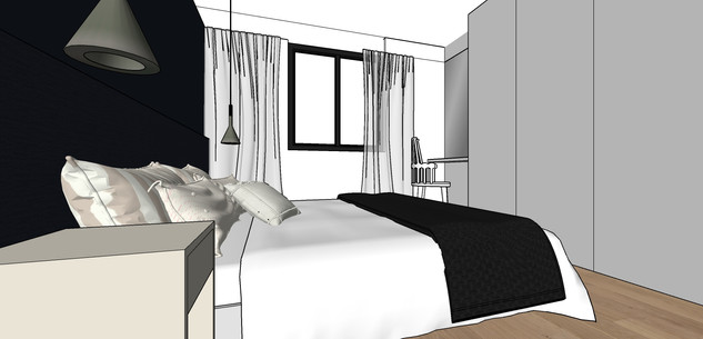 Aménagement villa | chambre