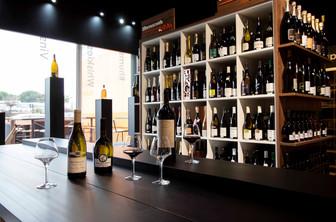 Agencement d'une   cave à vin
