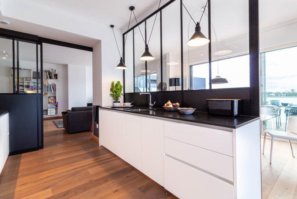 Création d'un espace cuisine