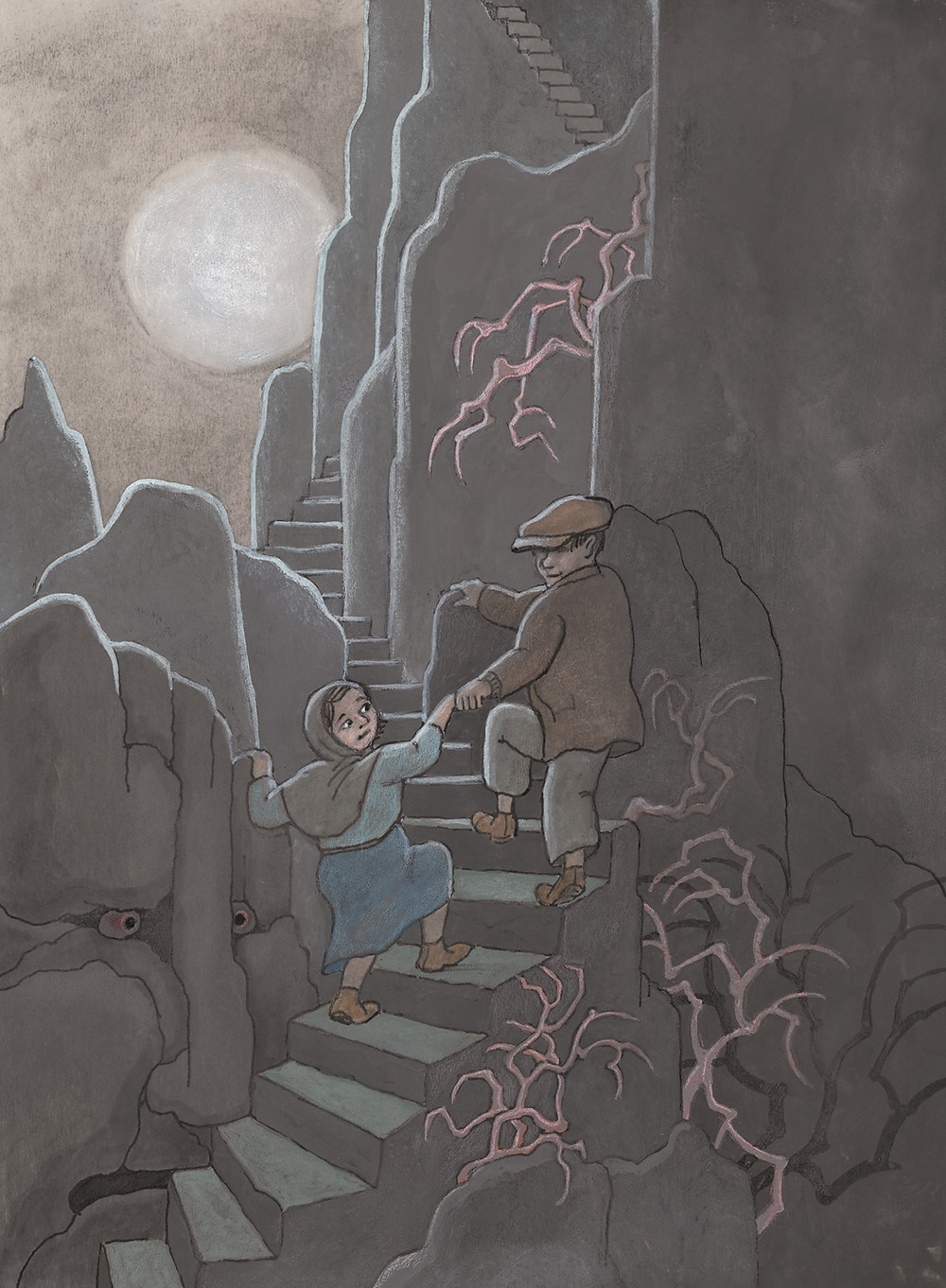 El Hombre Niebla. Il·lustració interior