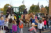 Mounted Patrol At The Fair