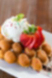 雞蛋仔配雪糕&士多啤梨, Hong Kong Street Eats, hongkongstreeteats, 香港街食, hk street eats