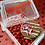 Thumbnail: Personalized box with dipped Oreo and candy (clear bottom)